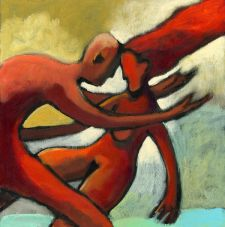 ruggieri abbraccio illustrazione