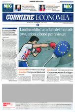brexit after the vote corriere economia 27 6 2016